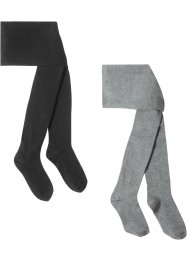 Lot de 2 collants enfant, bpc bonprix collection