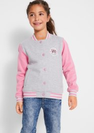 Gilet sweat-shirt style Teddy fille, bpc bonprix collection