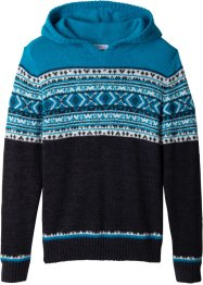 Pull en maille à capuche, bpc bonprix collection