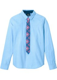 Chemise et cravate (Ens. 2 pces.), Slim Fit, bpc bonprix collection