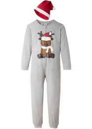 Combipyjama enfant + bonnet de Noël (Ens. 2 pces.), bpc bonprix collection
