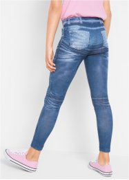 Legging fille imprimé jean, bpc bonprix collection