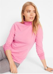 T-shirt col roulé extensible, manches longues, bpc bonprix collection