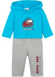T-shirt bébé et pantalon sweat (Ens. 2 pces.) coton bio, bpc bonprix collection