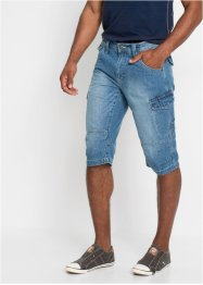Bermuda long en jean Loose Fit, John Baner JEANSWEAR