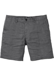 Short chino long en lin, bpc bonprix collection