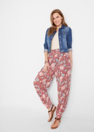 Pantalon sarouel en jersey, Loose Fit, bpc bonprix collection