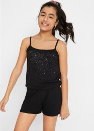 Combishort fille avec rivets, bpc bonprix collection