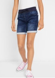 Short en jean-sweat fille, John Baner JEANSWEAR
