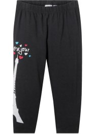 Legging 3/4 fille avec coton bio, bpc bonprix collection