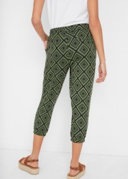 Pantalon 3/4 imprimé, bpc bonprix collection