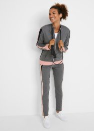 Gilet sweat-shirt et pantalon (Ens. 2 pces.), bpc bonprix collection