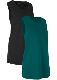 Lot de 2 tops de sport, bpc bonprix collection