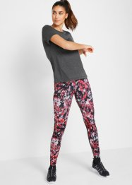 T-shirt, legging, écharpe (Ens. 3 pces.), bpc bonprix collection