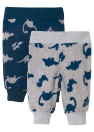 Lot de 2 pantalons polaire bébé, bpc bonprix collection