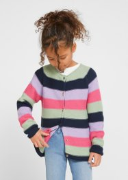 Gilet en maille coton fille, bpc bonprix collection