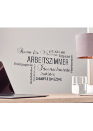 Tatouage mural home office, bpc living bonprix collection