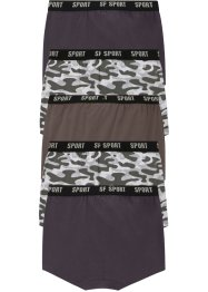 Lot de 5 boxers garçon, bpc bonprix collection