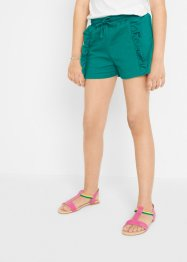 Short sweat fille avec ruchés, bpc bonprix collection