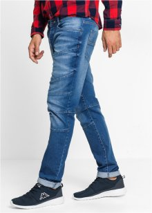 Jean extensible SLIM, RAINBOW, medium bleu bleached used