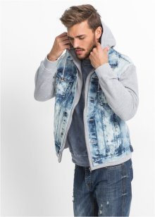 Veste en jean Regular Fit, RAINBOW, bleu bleached