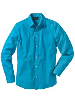Chemise extensible Slim Fit, bpc selection, turquoise