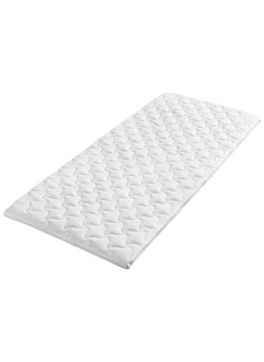 Surmatelas 7 zones Confort Plus, bpc living, blanc