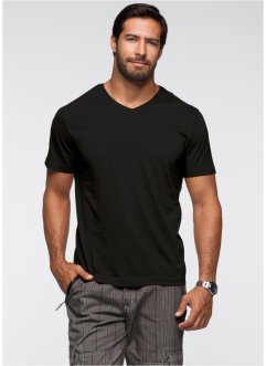 Lot de 2 T-shirts homme col V, bpc bonprix collection