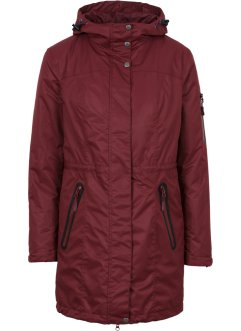 Veste fonctionnelle outdoor 3en1, bpc bonprix collection, rouge érable