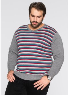 Pull col en V Regular Fit, bpc bonprix collection