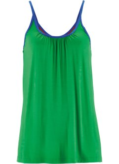 Top extensible, bpc bonprix collection, vert gazon
