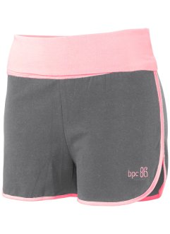 Short, bpc bonprix collection, gris chiné