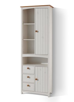 Colonne large Paula, bpc living, blanc