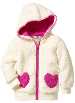 Gilet en synthétique imitation fourrure peluche, bpc bonprix collection