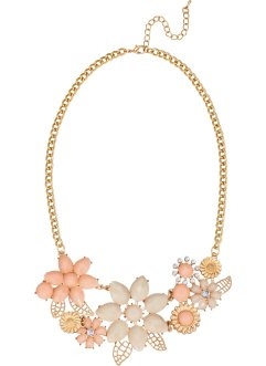 Collier Fleurs, bpc bonprix collection, doré/doré rose