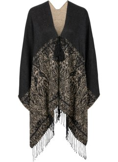 Poncho à ornements, bpc bonprix collection
