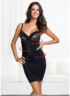 Robe modelante, bpc bonprix collection, noir