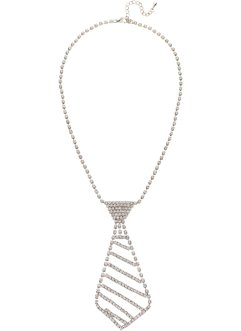 Collier cravate avec strass, bpc bonprix collection
