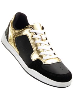 Sneakers Marcell von Berlin for bonprix, Marcell von Berlin for bonprix, noir/gold