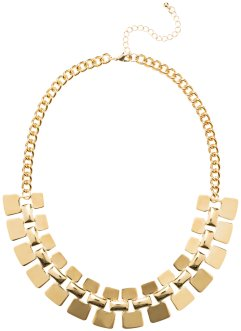 Collier imposant, bpc bonprix collection, doré