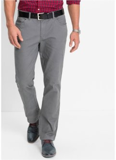Le pantalon extensible style 5 poches Slim Fit, bpc bonprix collection, gris fumée