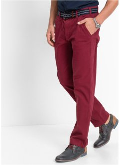 Pantalon chino extensible, bpc bonprix collection, noir