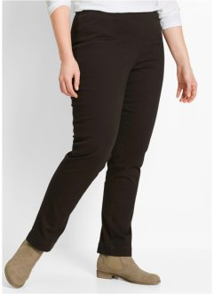 Pantalon extensible Droit, bpc bonprix collection, marron foncé new