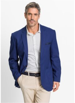 Veston en mélange de lin Regular Fit, bpc selection, bleu