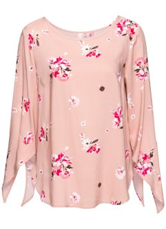 MUST-HAVE : blouse, RAINBOW, rose vintage à fleurs