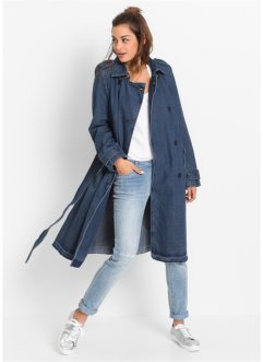 Trench-coat en jean, RAINBOW, bleu stone