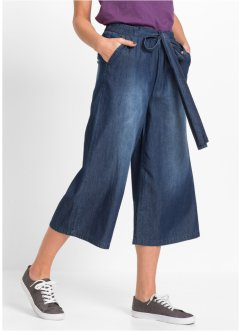 Jupe-culotte en jean, RAINBOW, dark denim