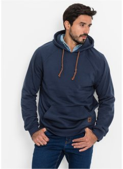 Sweat-shirt à capuche Regular Fit, John Baner JEANSWEAR, bleu foncé