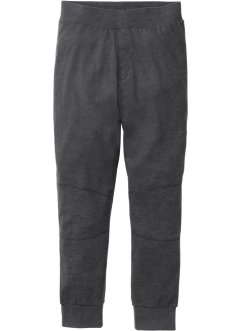 Pantalon de pyjama en matière sweat, bpc bonprix collection, anthracite chiné