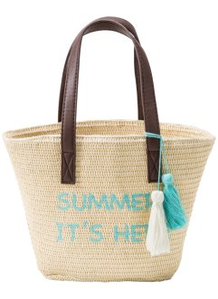 Sac de plage enfant, bpc bonprix collection, naturel